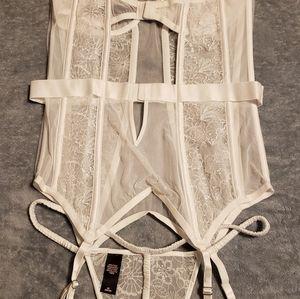 Victoria's Secret Corset/Garter